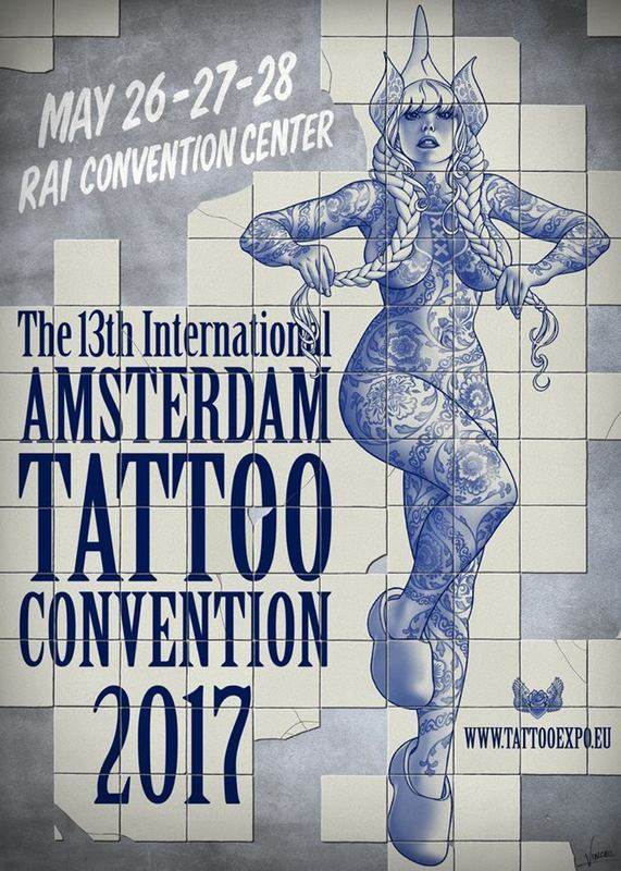 Amsterdam Tattoo Convention 2017