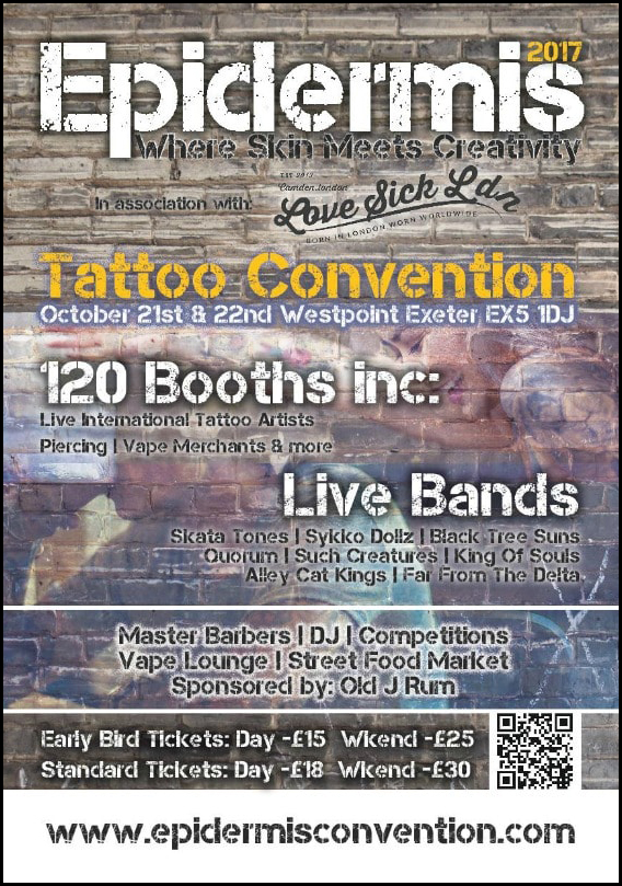 Epidermis Tattoo Convention 2017